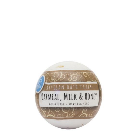 Fizz and Bubble Oatmeal Milk and Honey Large Bath Fizzy