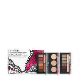 Smashbox Drawn In Decked Out Shadow & Highlight Palette 3-Piece Set