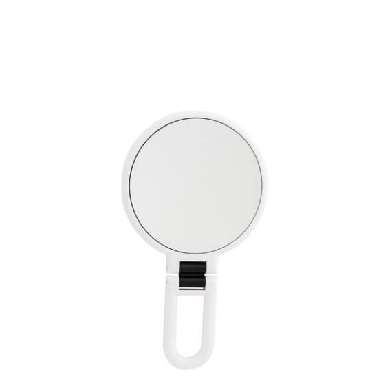 Danielle 15x Soft Touch Folding Hand Held White Mirror
