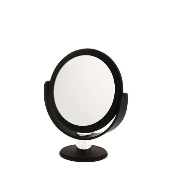 Danielle 10x Soft Touch Round Black Vanity Mirror