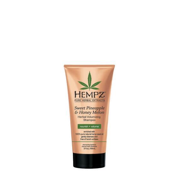 Hempz Sweet Pineapple and Honey Melon Herbal Volumizing Shampoo Travel Size