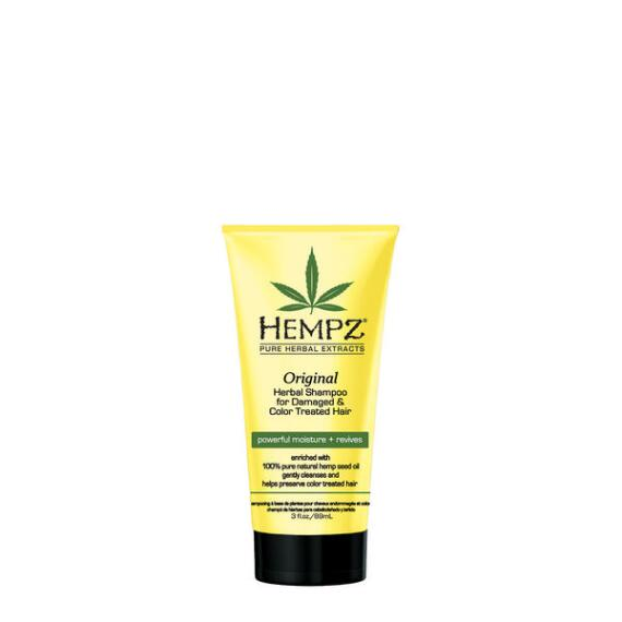 Hempz Original Herbal Shampoo For Damaged and Color Treated Hair Travel Size