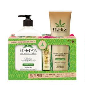 Hempz Original Bath and Body Trio