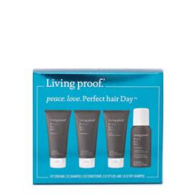 Living Proof Peace. Love. Perfect Hair Day 4-Piece Travel Kit