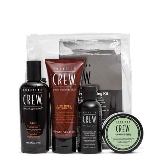 American Crew Travel Grooming 4-Piece Kit