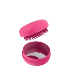 Milk and Sass Macaron for Hair Detangling Hair Brush with Compact Mirror