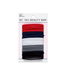 Conair Scunci Beauty Bar Multi-Color No Damage Elastics 30-Pack