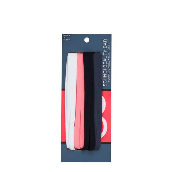 Conair Scunci Beauty Bar Hosiery Headwraps 4-Pack
