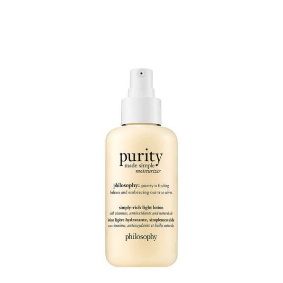 philosophy purity made simple moisturizer