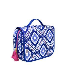 Modella Blue and Pink Hanging Organizer Bag