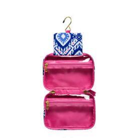 Modella Blue and Pink Petite Hanging Organizer
