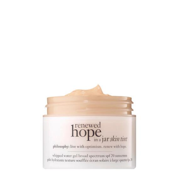 philosophy renewed hope in a jar skin tint SPF 27