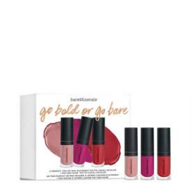 bareMinerals Go Bold or Go Bare Matte Liquid Lipstick Set