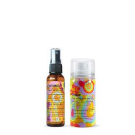 Amika The Wizard and Perk Up Dry Shampoo Travel Size Duo