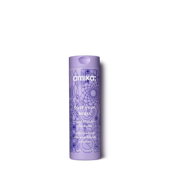 amika Bust Your Brass Cool Blonde Shampoo Travel Size
