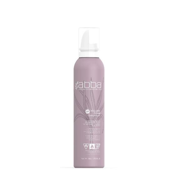 Abba Pure Volume Foam Styling Mousse
