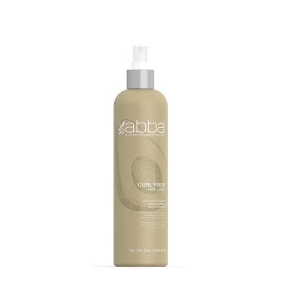 Abba Pure Curl Finish Hair Spray