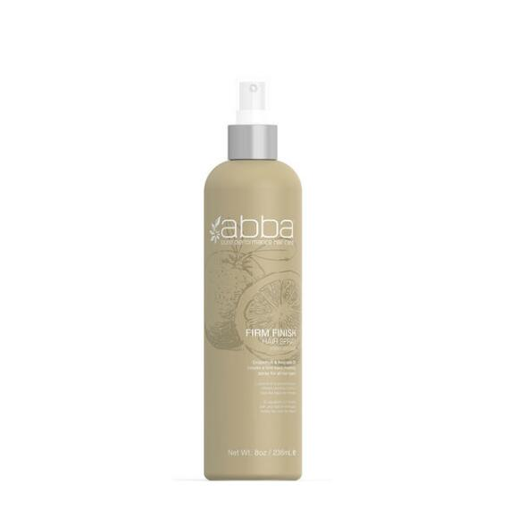 Abba Pure Firm Finish Hair Spray Non Aerosol