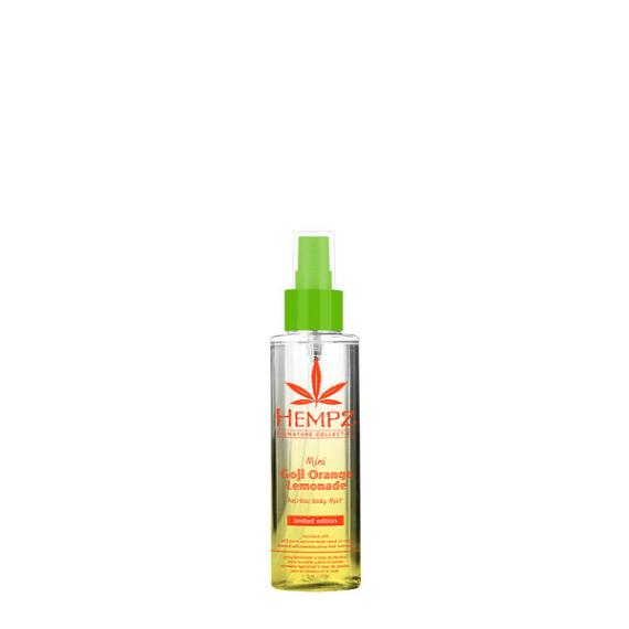 Hempz Goji Orange Lemonade Herbal Body Mist Travel Size