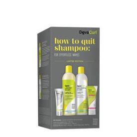 DevaCurl How to Quit Shampoo for Effortless Waves Kit
