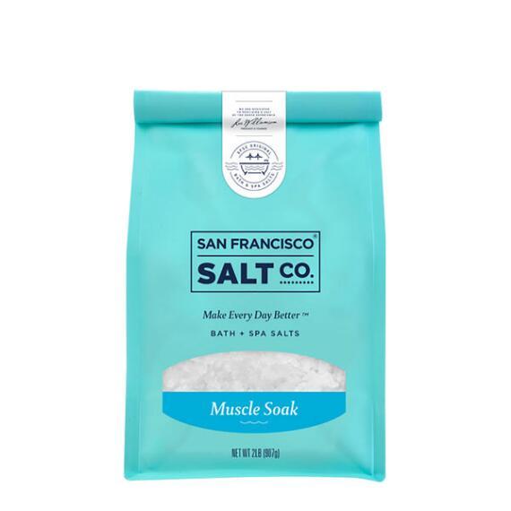 San Francisco Salt Co Muscle Soak Bath Salts