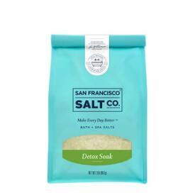 San Francisco Salt Co Detox Soak Bath Salts