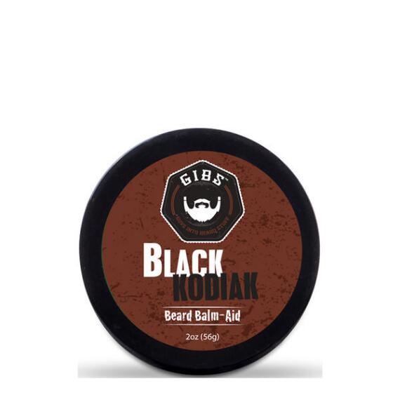Gibs Grooming Black Kodiak Beard Balm Aid