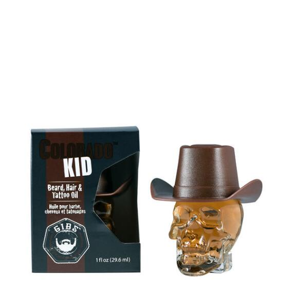 Gibs Grooming Colorado Kid Beard Hair and Tattoo Oil