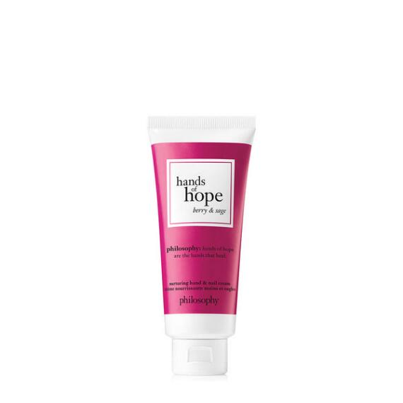 philosophy hands of hope hand cream - berry and sage