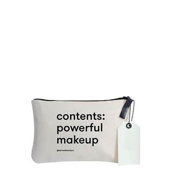 Dermablend Canvas Makeup Bag GWP