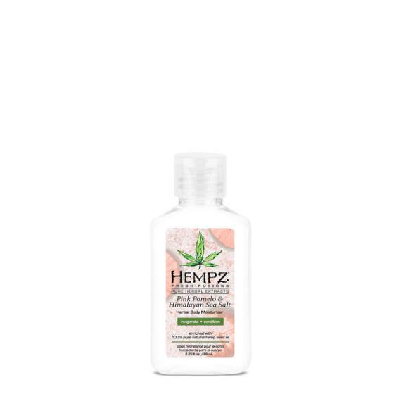Hempz Pink Pomelo and Himalayan Sea Salt Herbal Body Moisturizer Travel Size