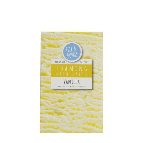 Fizz and Bubble Vanilla Foaming Bath Salts