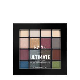 NYX Professional Makeup Ultimate Shadow Palette in Smokey and Highlight