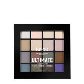 NYX Professional Makeup Ultimate Shadow Palette in Cool Neutrals
