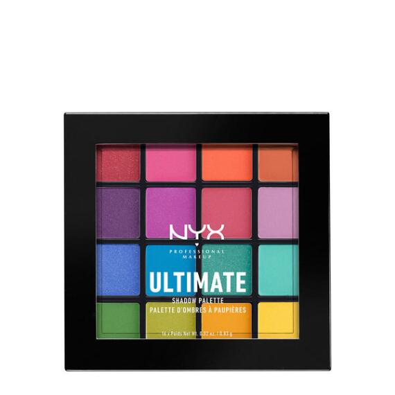 NYX Professional Makeup Ultimate Shadow Palette in Brights