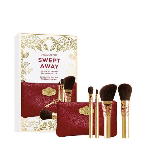 bareMinerals Swept Away 5-Piece Deluxe Mini Brush Collection
