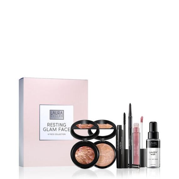 Laura Geller Resting Glam Face 6 Piece Collection