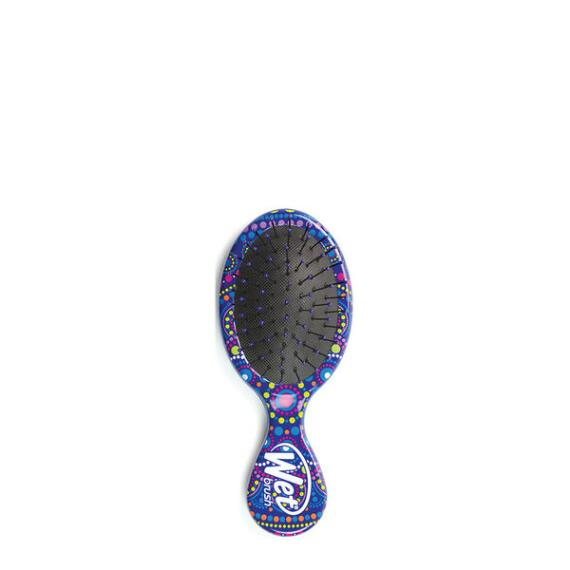 The Wet Brush Pro Mandala Mini Detangler - Blue