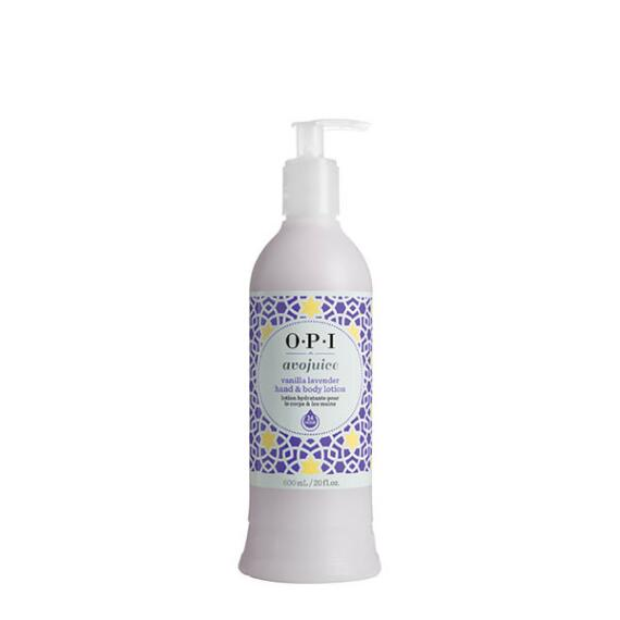 OPI Avojuice Vanilla Lavender Hand and Body Lotion