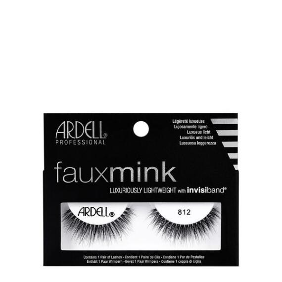 Ardell Fauxmink 812 Black Lashes