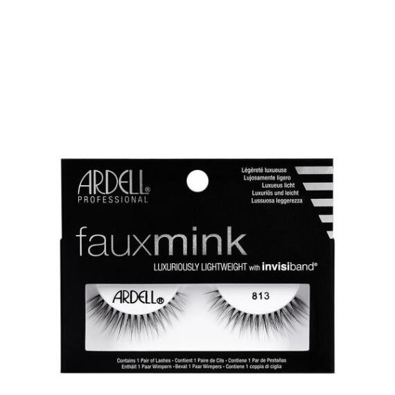 Ardell Fauxmink 813 Black Lashes
