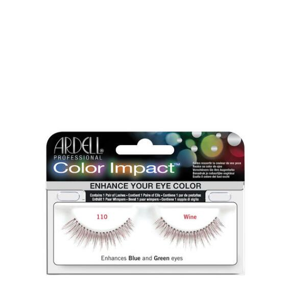 Ardell Color Impact 110 Wine Lashes