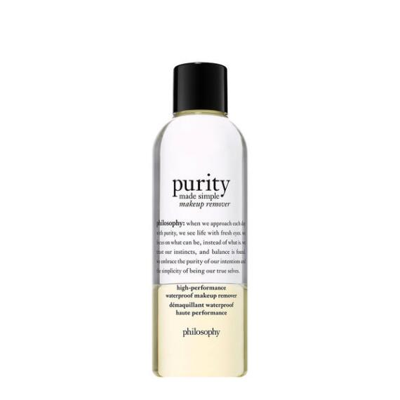 philosophy purity made simple high performance waterproof makeup remover