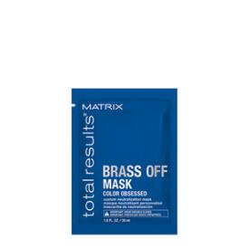 Matrix Total Results Brass Off Custom Neutralization Mask Travel Size