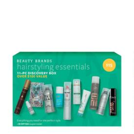 Beauty Brands Hairstyling Essentials 11 Piece Discovery Box