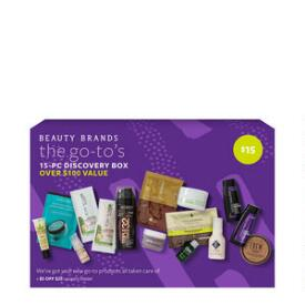 Beauty Brands The Go To 15 Piece Discovery Box