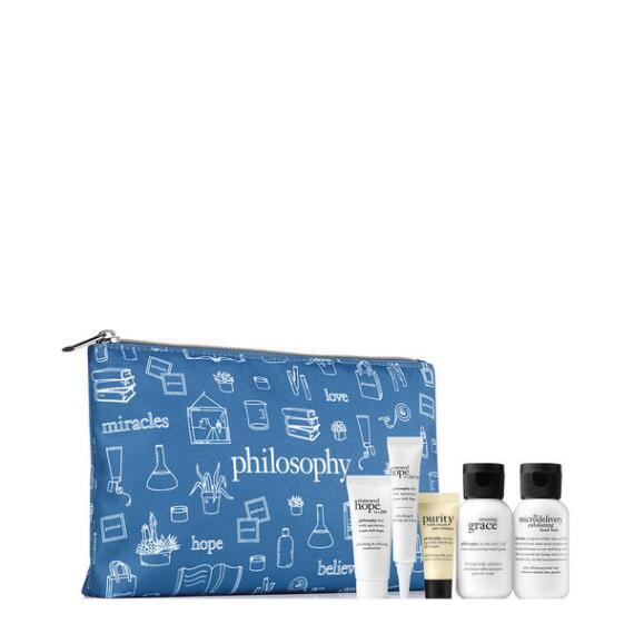 Philosophy Blue Bag Mixed GWP