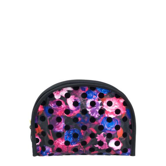 Modella Round Top Floral Dot Bag