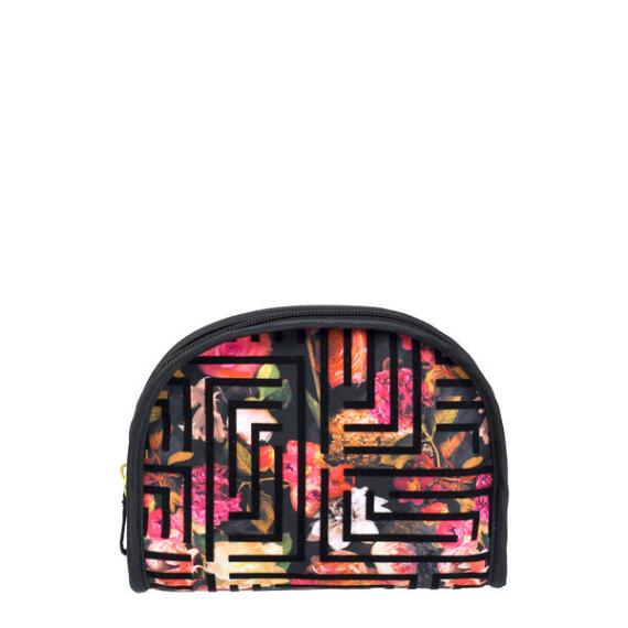 Modella Round Top Floral Bag