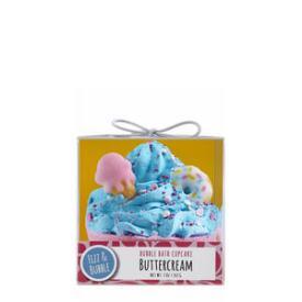 Fizz and Bubble Bubble Bath Buttercream Cupcake